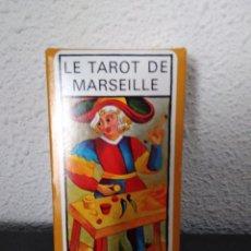 Barajas de cartas: LE TAROT DE MARSEILLE. Lote 210773239