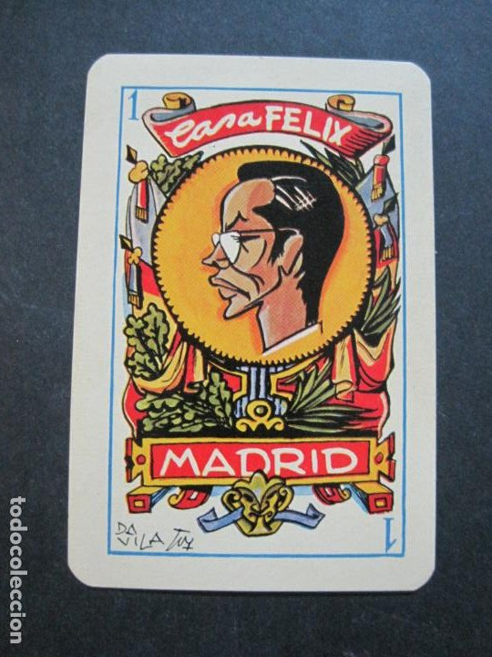 Barajas de cartas: CASA FELIX RESTAURANTE-MADRID-COL·COMPLETA DE 4 CARTAS NAIPES-VER FOTOS-(V-21.170) - Foto 3 - 210776101