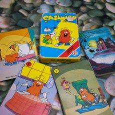 Jeux de cartes: BARAJA CARTAS NAIPES CASIMIRO Y... SUS AMIGOS, FOURNIER AÑOS 80'S.COMPLETA!!!.. Lote 210783436