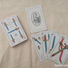 Barajas de cartas: BARAJA ESPAÑOLA NAIPES COMAS 50 CARTAS. NAIPES Y ESPECIALIDADES GRAFICAS, S.A. BARCELONA. N. 2-S. N. Lote 210798180