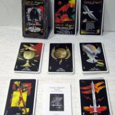 Barajas de cartas: TAROT CROW´S MAGICK BY LONDA MARKS U.S. GAMES 1998. Lote 210827544