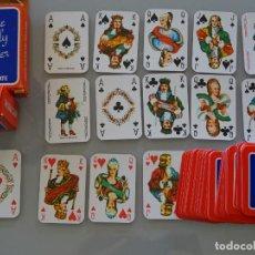 Barajas de cartas: BARAJA DE CARTAS MINI LILIPUT PEQUEÑA POKER. UNION HAARLEM HOLANDA MILK CHOCOLATE. 4,5CM. 30 GR. Lote 210837972