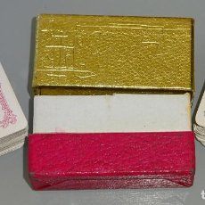 Barajas de cartas: 2 BARAJAS DE CARTAS MINI LILIPUT PEQUEÑA POKER. PIATNIK AUSTRIA. AUSTRIACAS. 4,4CM. 30 GR. Lote 210838176