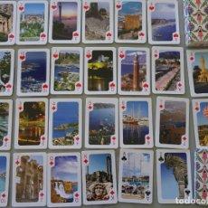Barajas de cartas: BARAJA DE CARTAS DE PÓKER. EUSKALTEL SUNSEA TRAVEL. CADA NAIPE UNA FOTO DE TURQUÍA ?. 120GR. Lote 210838566