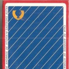 Barajas de cartas: BARAJA, CAJA DE AHORROS DE VITORIA, BANCO, FOURNIER, NUEVA, PRECINTADA. Lote 108252687