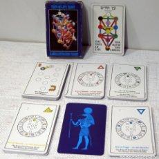 Barajas de cartas: KABBALISTISCHES TAROT TREE OF LIFE, VAN LEEUWEN Y CAMPHAUSEN. AGMULLER 1983. Lote 211269647