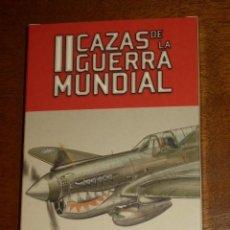 Barajas de cartas: BARAJA DE POKER CAZAS II GUERRA MUNDIAL,DE FOURNIER,NUEVA.. Lote 211272565