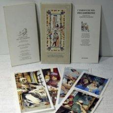 Barajas de cartas: I TAROCCHI DEL DECAMERONE, GIACINTO GAUDENZI . IDEOGRAMA ARTE EDITORIALE 1993 ARCANOS MAYORES. Lote 211461767