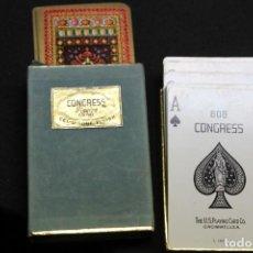Barajas de cartas: BARAJA FRANCESA CONGRESS , PLAYING CARDS. Lote 211478016