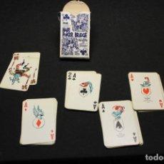 Barajas de cartas: MINGOTE, POKER BRIDGE, HOTEL MELIÁ MADRID. Lote 211497139