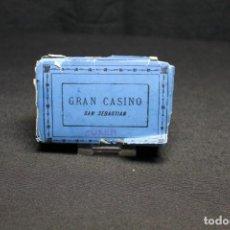 Barajas de cartas: B.P. GRIMAUD, GRAN CASINO DE SAN SEBASTIÁN, BARAJA DE POKER. Lote 211498245