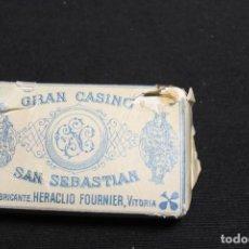 Barajas de cartas: H. FOURNIER, GRAN CASINO DE SAN SEBASTIÁN. Lote 211498514