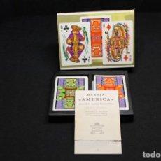 Barajas de cartas: AMERICA, H. FOURNIER. Lote 211499279