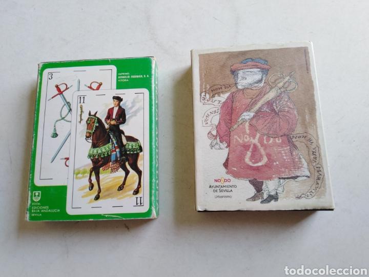 Barajas de cartas: Lote de 2 barajas de cartas - Foto 2 - 211775505