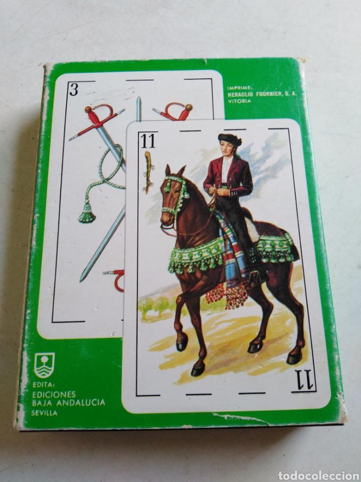 Barajas de cartas: Lote de 2 barajas de cartas - Foto 6 - 211775505