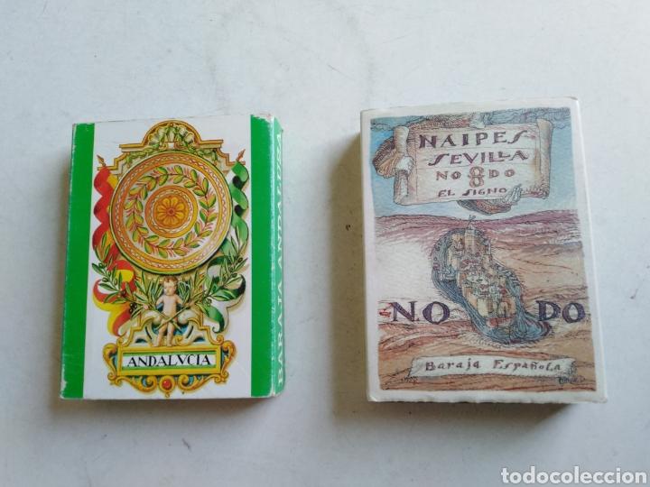 LOTE DE 2 BARAJAS DE CARTAS (Juguetes y Juegos - Cartas y Naipes - Baraja Española)