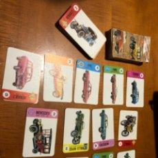 Barajas de cartas: JUEGO DE BARAJA DE CARTAS EL JUEGO DE COCHES. Lote 211925795