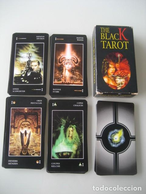 THE BLACK TAROT. FOURNIER 1998 (Juguetes y Juegos - Cartas y Naipes - Barajas Tarot)