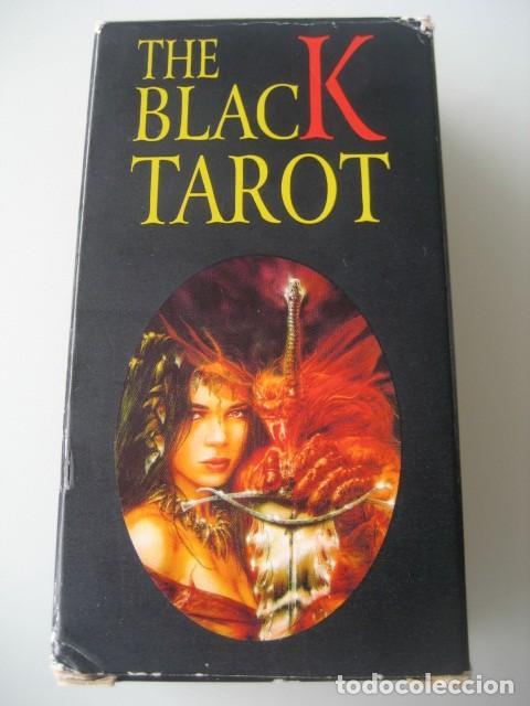 Barajas de cartas: THE BLACK TAROT. FOURNIER 1998 - Foto 2 - 211971280