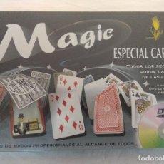 Barajas de cartas: MAGIC ESPECIAL CARTAS/TRUCOS DE MAGOS PROFESIONALES/NUEVO EN CAJA¡¡¡¡¡¡¡¡¡.. Lote 212009758
