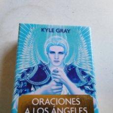 Barajas de cartas: CARTAS ORÁCULO, ORACIONES A LOS ÁNGELES ( KYLE GRAY ). Lote 212081843