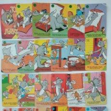 Barajas de cartas: TOM Y JERRY CARTAS LOTE. Lote 172970937