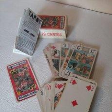 Barajas de cartas: BARAJA TAROT 78 CARTAS. Lote 212105722