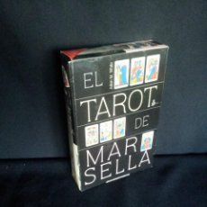 Barajas de cartas: JULIAN M. WHITE - EL TAROT DE MARSELLA (LIBRO Y BARAJA) - EDICIONES SIRIO 2005. Lote 212119347