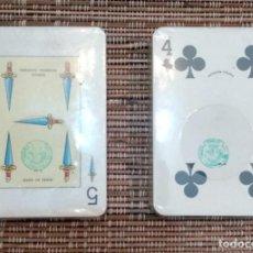 Barajas de cartas: ANTIGUAS BARAJAS HERACLIO FOURNIER VITORIA - PRECINTADAS - POKER Y BARAJA ESPAÑOLA - VER FOTOS. Lote 212174012