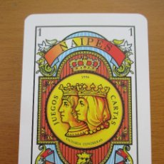 Barajas de cartas: BARAJA ESPAÑOLA NAIPES IBERIA VICTORIA CONTRERAS MOD. 101 1996 VALENCIA C.F. 50 CARTAS. Lote 212207896
