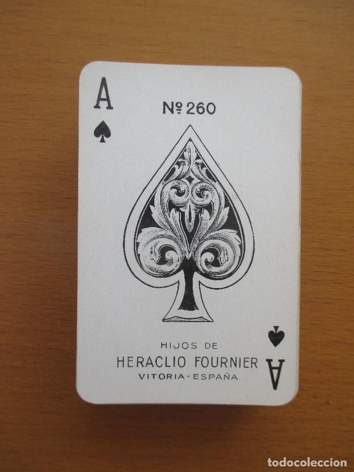 BARAJA POKER HIJOS DE HERACLIO FOURNIER VITORIA Nº 260 54 CARTAS (Juguetes y Juegos - Cartas y Naipes - Barajas de Póker)