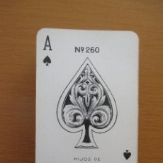 Barajas de cartas: BARAJA POKER HIJOS DE HERACLIO FOURNIER VITORIA Nº 260 54 CARTAS. Lote 212209381