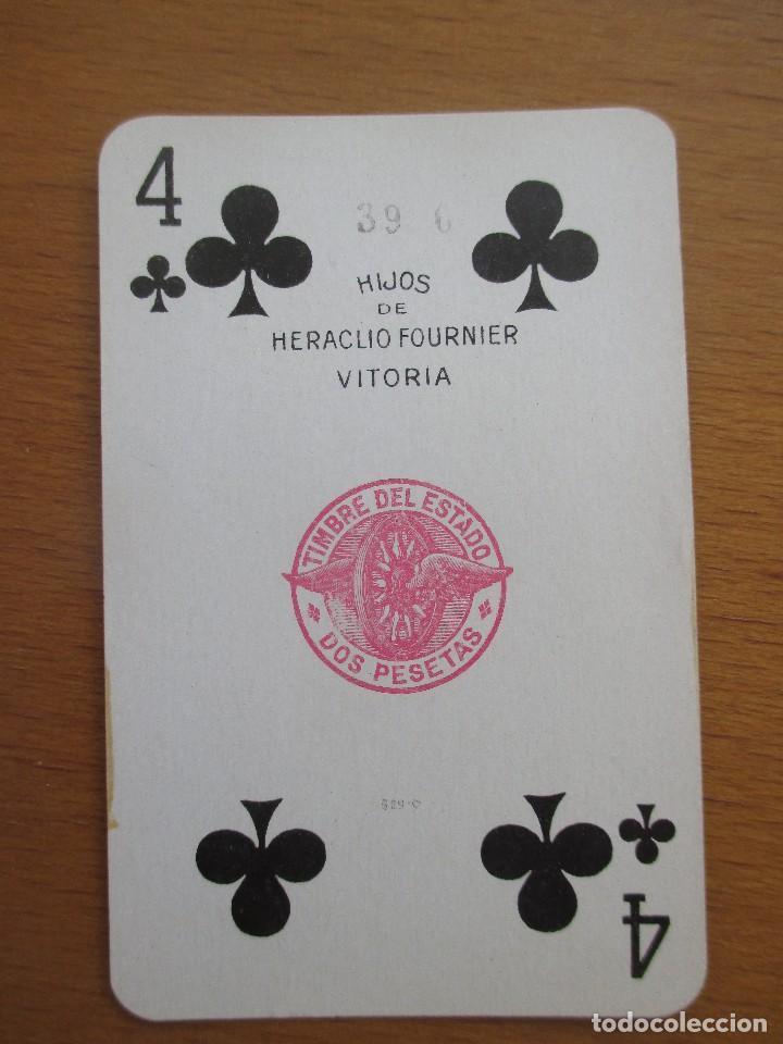 Barajas de cartas: BARAJA POKER HIJOS DE HERACLIO FOURNIER VITORIA Nº 260 54 CARTAS - Foto 3 - 212209381
