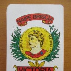 Barajas de cartas: BARAJA ESPAÑOLA NAIPE BRISCIA VICTORIA Nº1 48 CARTAS. Lote 212210800