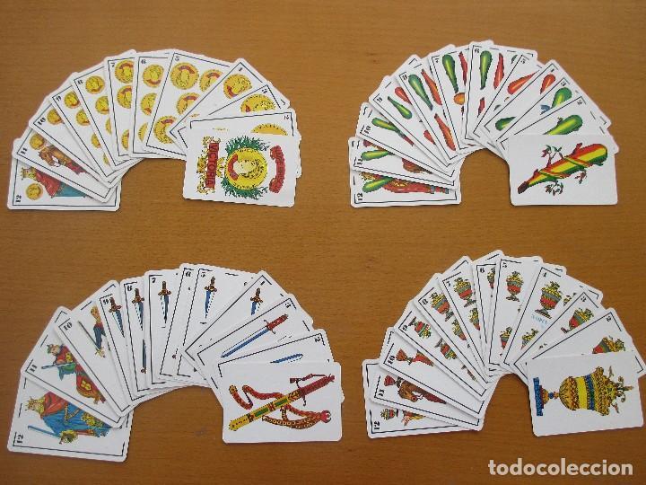 Barajas de cartas: BARAJA ESPAÑOLA NAIPE BRISCIA VICTORIA Nº1 48 CARTAS - Foto 3 - 212210800