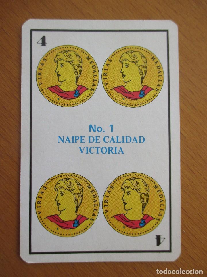 Barajas de cartas: BARAJA ESPAÑOLA NAIPE BRISCIA VICTORIA Nº1 48 CARTAS - Foto 4 - 212210800