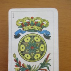 Barajas de cartas: BARAJA ESPAÑOLA 40 CARTAS RARA. Lote 212212000