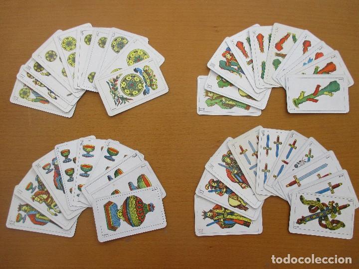 Barajas de cartas: BARAJA ESPAÑOLA 40 CARTAS RARA - Foto 3 - 212212000