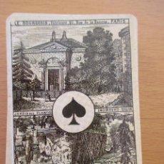Barajas de cartas: BARAJA POKER RÉPLICA LE BOURGEOIS PARÍS 52 CARTAS. Lote 212214123