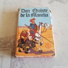 Jeux de cartes: BARAJA DE CARTAS INFANTILES DON QUIJOTE DE LA MANCHA FOURNIER. Lote 212518108