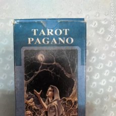 Barajas de cartas: TAROT PAGANO 78 CARTAS LO SCARABEOOFERTA DE ENVIO GRATIS LEER. Lote 212603735