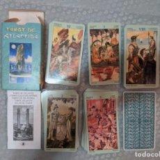 Barajas de cartas: TAROT DE LA ATLANTIDA CON INSTRUCIONES EN ESPAÑOL VER FOTOS. Lote 212604390