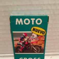 Jeux de cartes: BARAJA FOURNIER MOTO CROSS AÑO 1987 SIN EXTRENAR. Lote 212617396