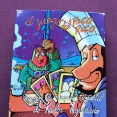 Barajas de cartas: CARTAS BARAJA NAIPES EL JUEGO DEL RICO RICO - JUEGO DE NAIPES INFANTIL DE KARLOS ARGUIÑANO. Lote 288049558