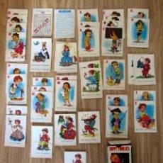 Barajas de cartas: BARAJA INFANTIL ANTIGUA HAPPY FAMILIES SNAP 42 CARTAS Y 2 INSTRUCCIONES MADE IN HONG KONG. Lote 212897686