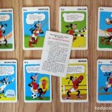 Barajas de cartas: BARAJA DE CARTAS GOOF GOOFY EL OLIMPICO FOURNIER 1972 NAIPES SIN CAJA. Lote 212898920