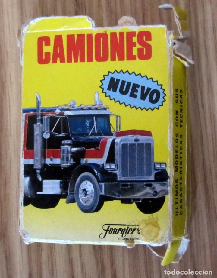Barajas de cartas: Baraja Infantil - Naipes - Juego de 33 Cartas - Fournier - Camiones - Completa - 1989 - Foto 2 - 212899185