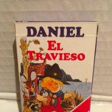 Barajas de cartas: BARAJA FOURNIER DANIEL EL TRAVIESO AÑO 1987 SIN EXTRENAR. Lote 212932992