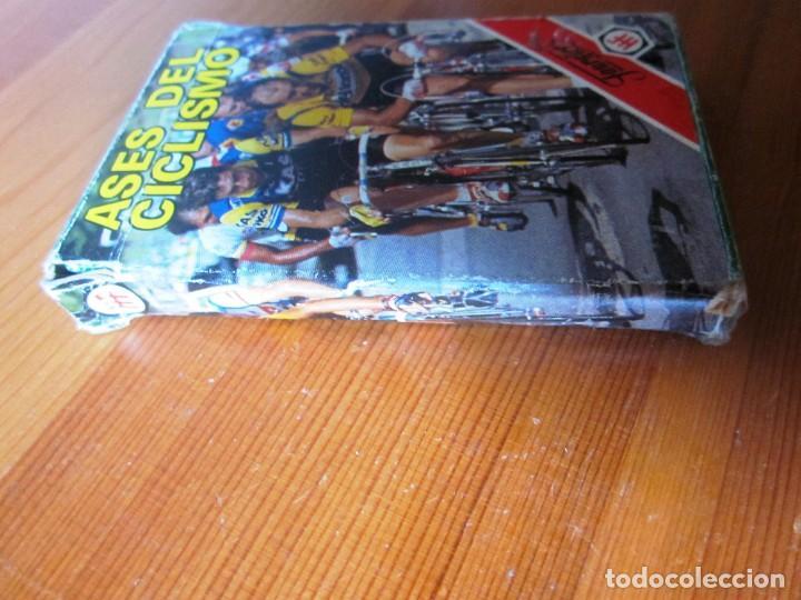 Barajas de cartas: Baraja Juego de Cartas naipes Fournier ASES DEL CICLISMO. FOURNIER. 1988. - Foto 5 - 213000787