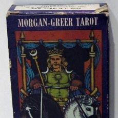 Barajas de cartas: MORGAN GREER TAROT, WILLIAM GREER 1979. Lote 213010080